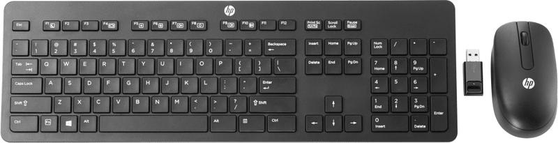 HP Slim bezdrátová černá klávesnice + myš (T6L04AA)