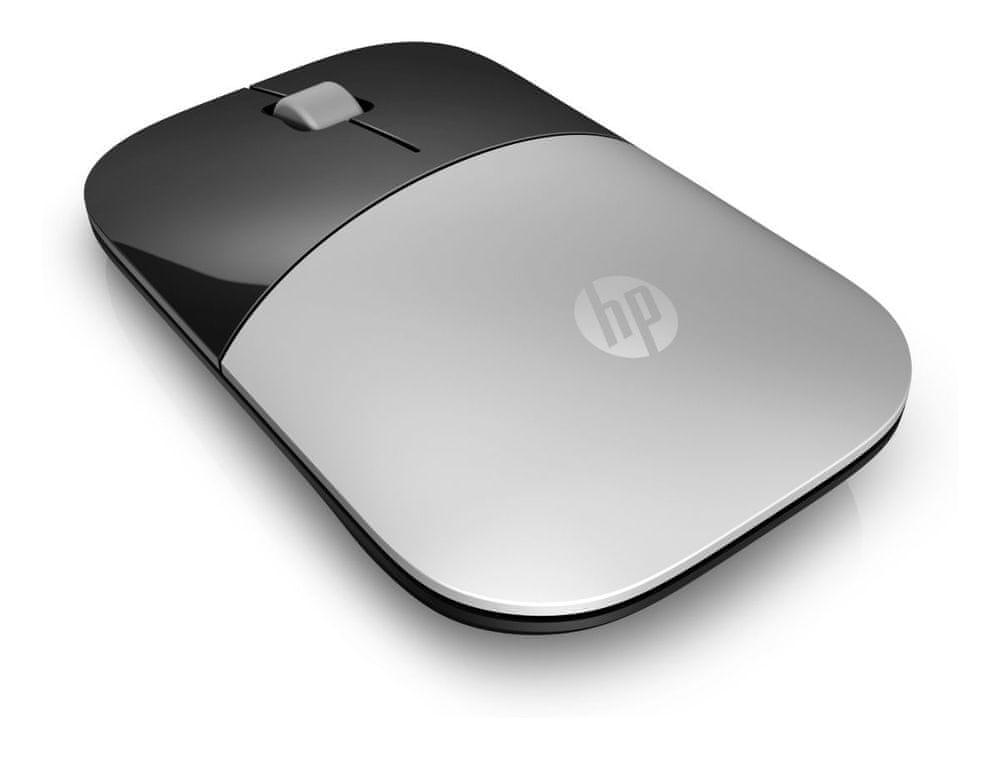 HP Z3700 bezdrátová myš, stříbrná (X7Q44AA)