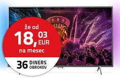 Philips 4K UHD LED TV sprejemnik 55PUS6201