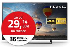 Sony 4K LED TV sprejemnik KD-55XE8096B