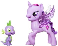 My Little Pony Hrací set so spievajúcou Twilight Sparkle a Spikom