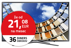 Samsung Full HD Smart TV UE55M5572