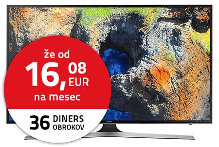 SAMSUNG UE43MU6102 Ultra HD 4K Sík Smart TV