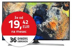 Samsung 4K LED TV sprejemnik 50MU6172