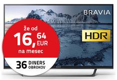 Sony LED TV sprejemnik KDL-49WE665B