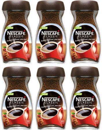 NESCAFÉ CLASSIC instantní káva 6x200g