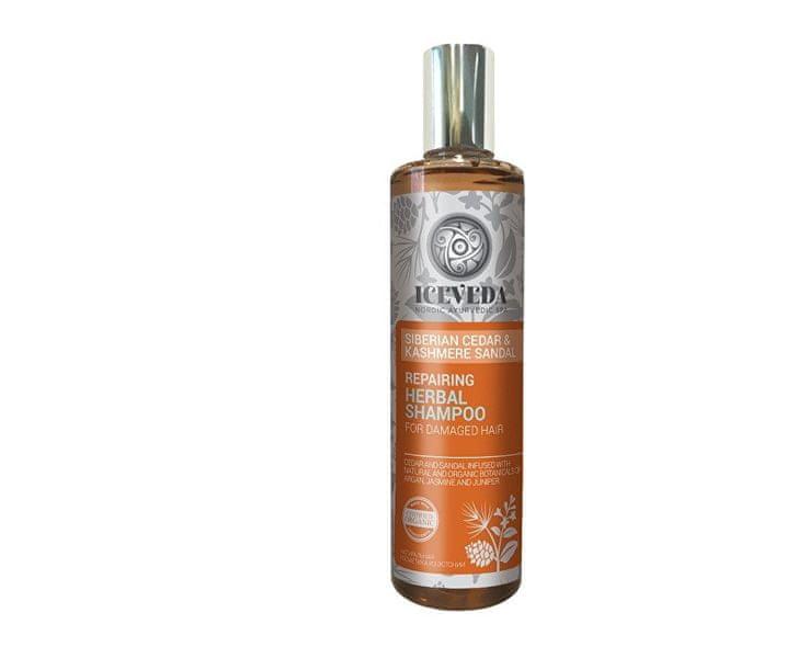 Obnovující bylinný šampon Sibiřský cedr a santal 280 ml