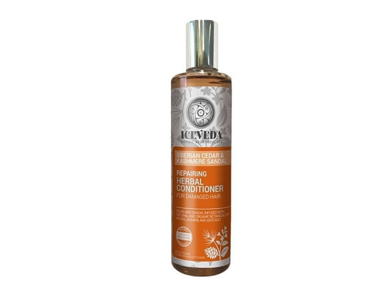 Obnovující bylinný kondicionér na vlasy Sibiřský cedr a santal 280 ml