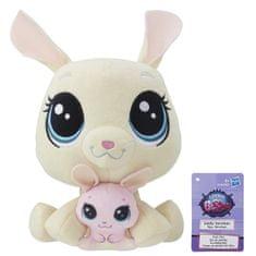 Littlest Pet Shop Duo plyšových zvířátek - Bunny