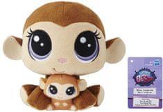 Littlest Pet Shop Duo plyšových zvířátek - Monkey