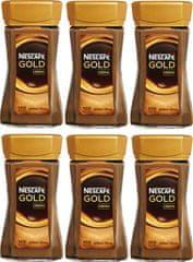 NESCAFÉ Gold Crema instantní káva 6x200 g