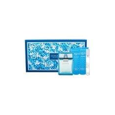 Versace Eau Fraiche Man - EDT 100 ml + EDT 10 ml + balzám po holení 100 ml + sprchový gel 100 ml