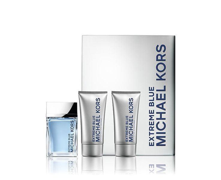 Michael Kors Extreme Blue - EDT 120 ml + voda po holení 75 ml + tělový gel 75 ml