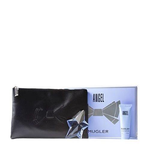 Thierry Mugler Angel - EDP (plnitelná) 25 ml + tělové mléko 50 ml + kosmetická taška