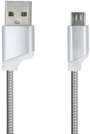 Forever Dátový kábel Forever, Micro-USB, ružová strieborná