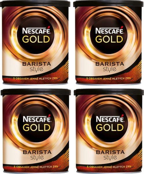 NESCAFÉ GOLD Barista Style instantní káva 4x180g