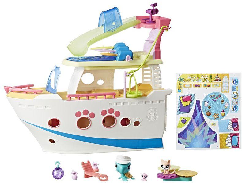 Littlest Pet Shop Hrací set - výletní loď