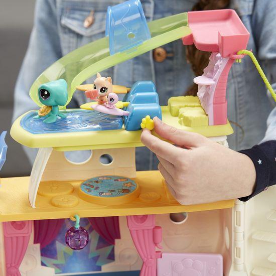 Littlest Pet Shop igralni set križarjenje s 3 živalmi
