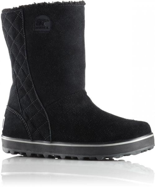 Sorel Glacy Black 40.5