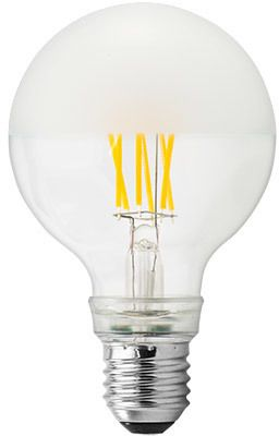 GE Lighting żarówka LED Filament Globe, E27, 6,5W, ciepła barwa, matowa