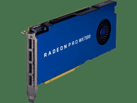 HP grafična kartica AMD Pro WX 7100 8 GB (Z0B14AA)