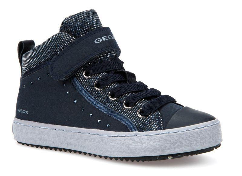 Geox dívčí kotníčkové tenisky Kalispera 27 modrá