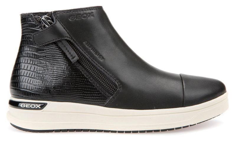 Geox dívčí kotníčkové boty Aveup 32 černá