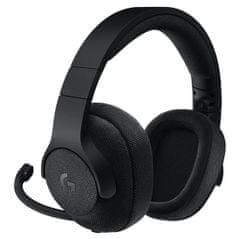 Logitech žične slušalke Gaming G433, 7.1 Surround, črna