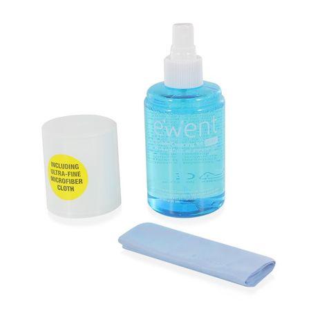 Ewent komplet za čiščenje zaslonov, krpica in tekočina (200 ml)