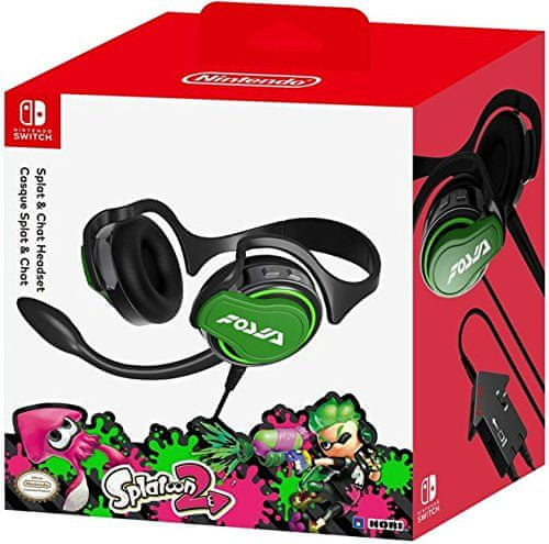 Nintendo Headset Splatoon 2 Edition / Switch