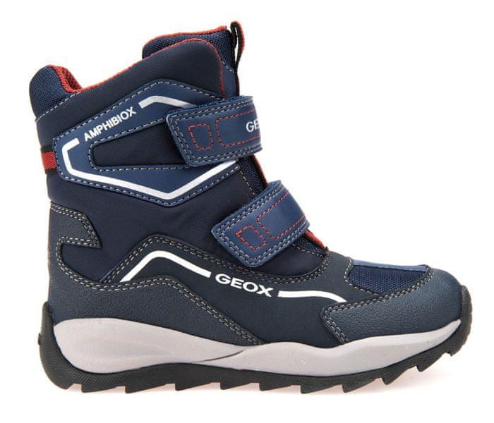 Geox chlapecké zimní boty Orizont 34 modrá