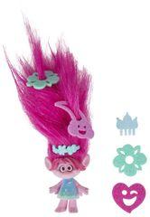 HASBRO maskotka z bardzo długimi włosami, TROLLE- Poppy
