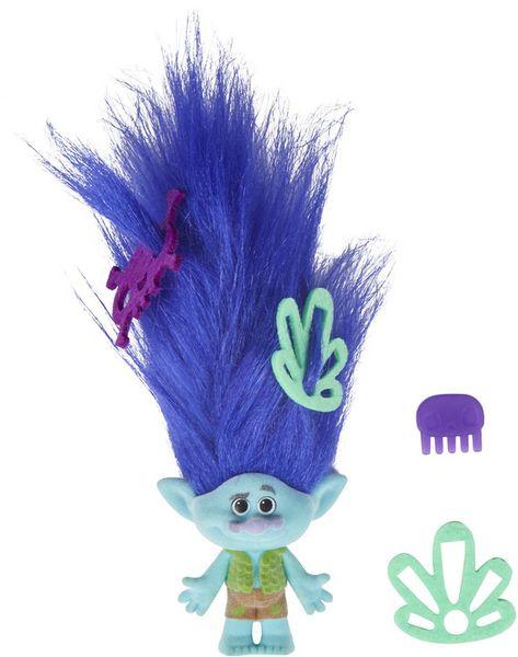 Hasbro TROLLS Postavička s extra dlouhými vlasy - Branch