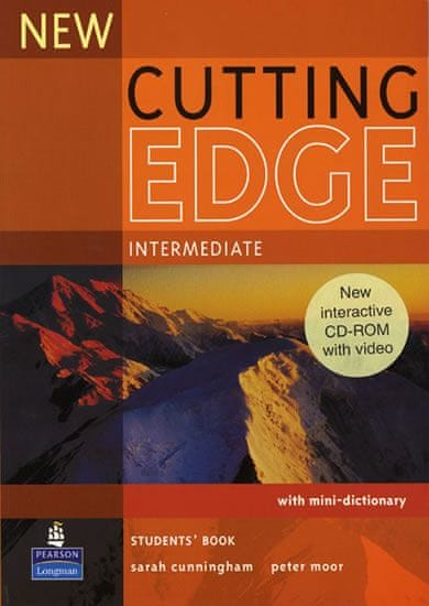 Cunningham Sarah: New Cutting Edge Intermediate Students Book and CD-Rom Pack