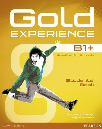 Barraclough Carolyn: Gold Experience B1+ Students´ Book with DVD-ROM Pack