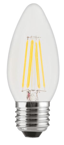 GE Lighting LED žárovka, Filament Deco Candle, E27 4W, teplá barva