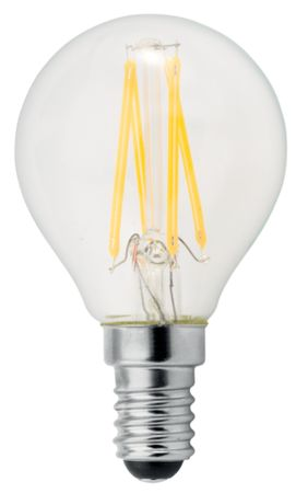 GE Lighting żarówka LED Filament Deco Spherical, E14, 4W, ciepła barwa