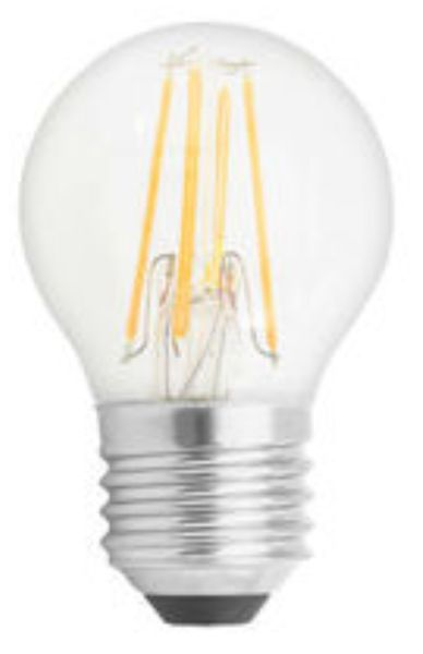 GE Lighting LED žárovka, Filament Deco Spherical, E27 2,5W, teplá barva