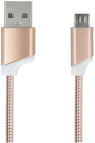 Forever Datový kabel, Micro-USB, zlatá