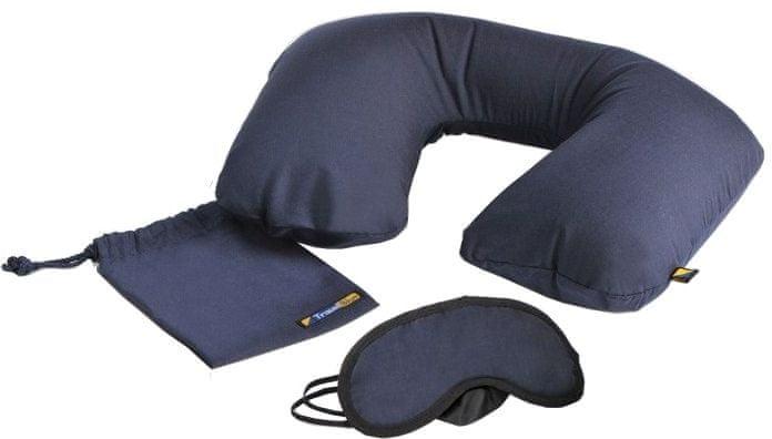 REAbags Cestovní spací set Travel Blue modrý