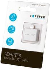 Forever Redukce (30pin (Apple Iphone 4) - Lightning), bílá