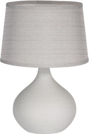 TimeLife Stolní lampa keramická 29 cm, šedá
