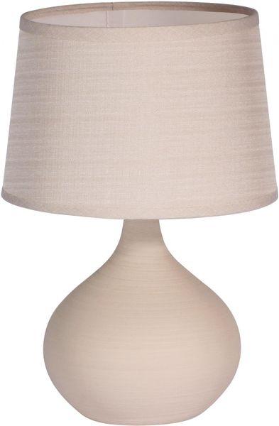 Time Life Stolní lampa keramická 29 cm, béžová