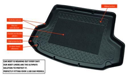 Aristar prtljažno korito Audi A3 HB/3, HB/5 2012->