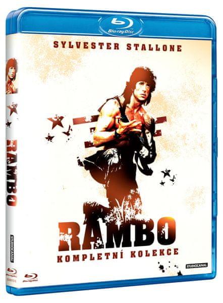 Kolekce Rambo 1-3 (3BD) - Blu-ray