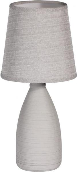 Time Life Stolní lampa keramická 37,5 cm, šedá