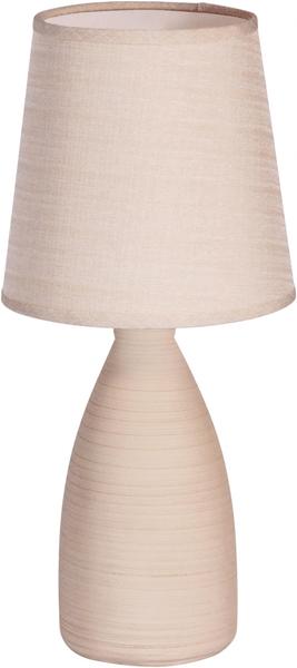 Time Life Stolní lampa keramická 37,5 cm, béžová