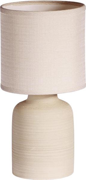 Time Life Stolní lampa keramická 33 cm, béžová