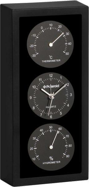 Time Life Teploměr s vlhkoměrem a hodinami TL-180Č