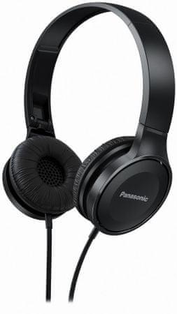 PANASONIC RP-HF100E-K, čierna